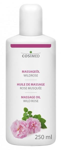 Massageöl Wildrose