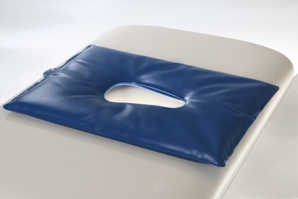 Gesicht-Gelkissen für die Kopfstütze, 1 Stück (blau)