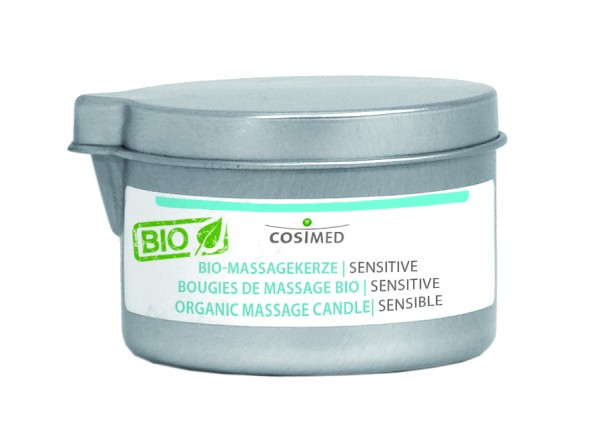 BIO-Massagekerze Sensitive BIO