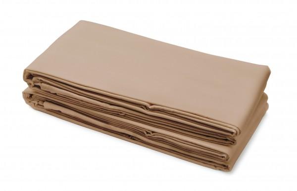 Fangolaken 250x150 cm, braun, 100% Baumwolle, Laken
