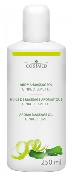 Aroma-Massageöl Ginkgo-Limette