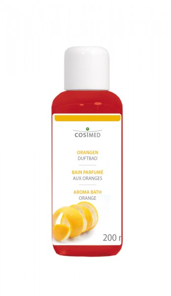 Orangen-Duftbad