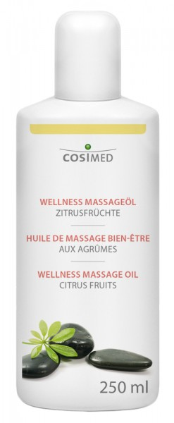 Wellness Massageöl Zitrusfrüchte