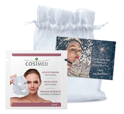 Gesichtsmaske Anti-Aging 15 Stück pro Karton