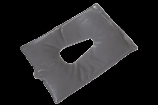 Gesicht-Gelkissen für die Kopfstütze oder Nasenschlitze der Massageliege (grau)