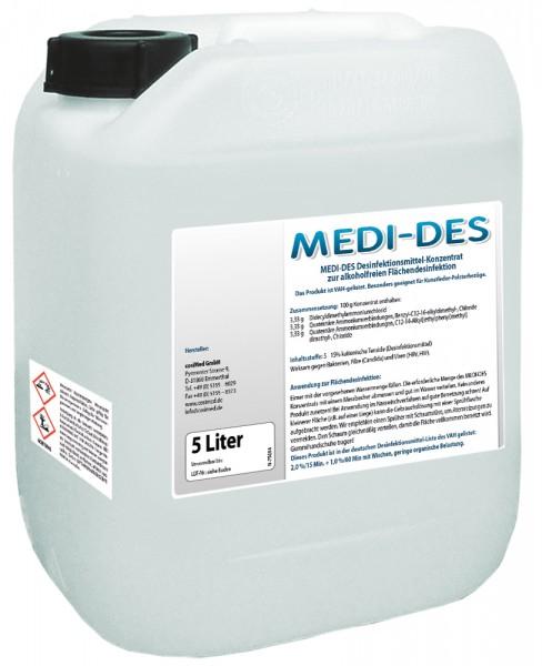 Medi-Des · Desinfektionsmittel-Konzentrat · VAH-gelistet