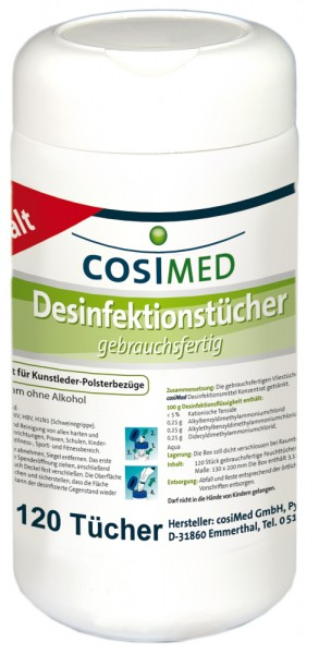 Desinfektionstücher · 130 x 200 mm