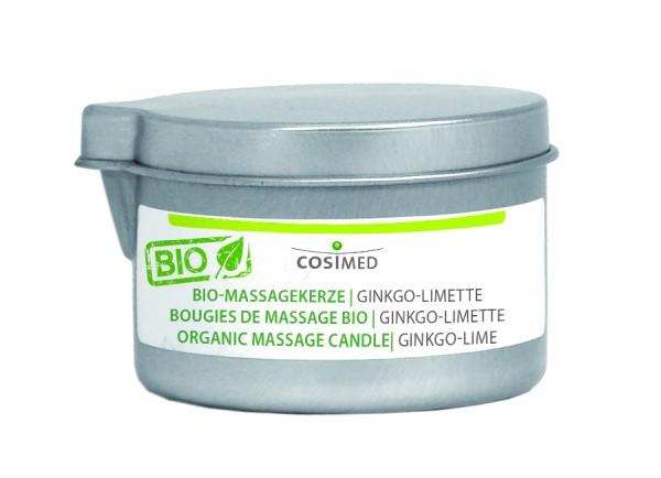 BIO-Massagekerze Ginkgo-Limette BIO
